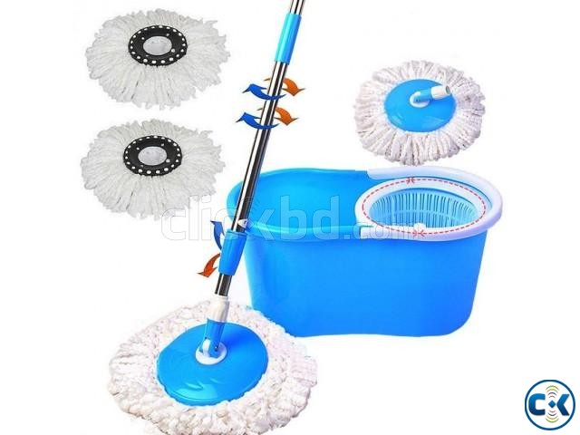 Double Function Hand Pressure Magic Mop Large | ClickBD large image 0