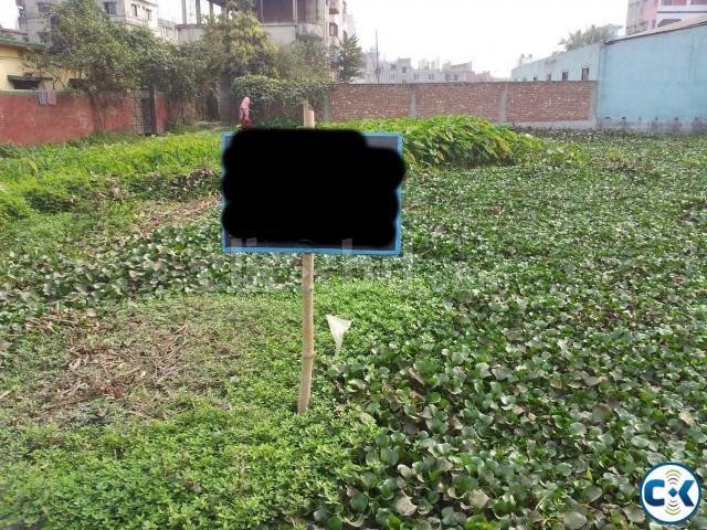 25 Decimal ready plot at Shahebpara Demra Signboard  | ClickBD large image 0
