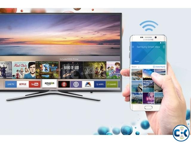 Samsung K5500 43 Full HD LED Wi-Fi Smart Flat Television | ClickBD large image 0