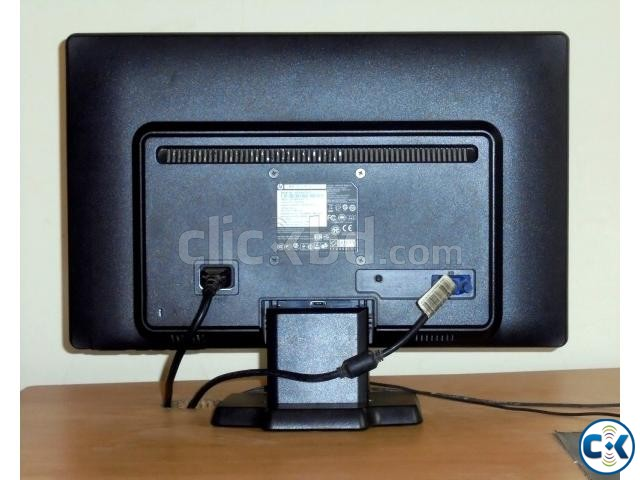 HP 20 LED monitor Home used  | ClickBD large image 2