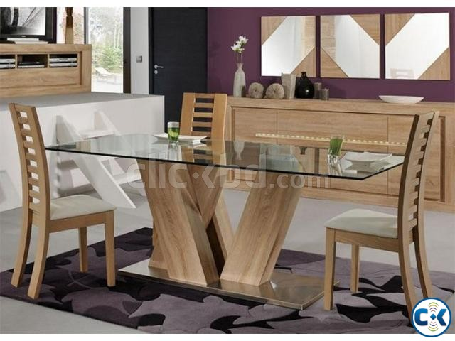 Dining Table Set 8 sitter  | ClickBD large image 0
