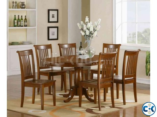Dining Table Set 8 sitter  | ClickBD large image 1