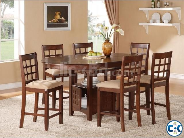 Dining Table Set 8 sitter  | ClickBD large image 3