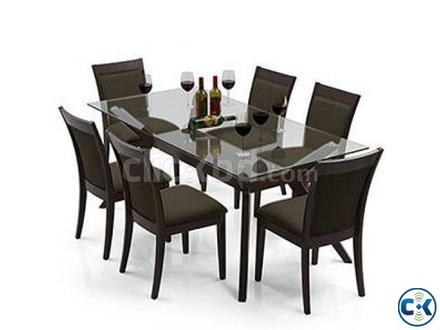 Dining Table Set 8 sitter  | ClickBD large image 4