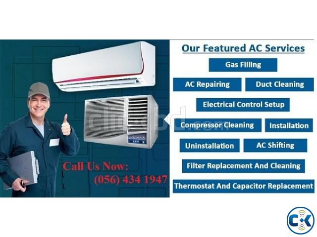 AC SERVICING NEW AC | ClickBD large image 2