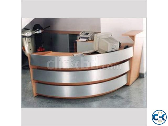 Office Reception table | ClickBD large image 2