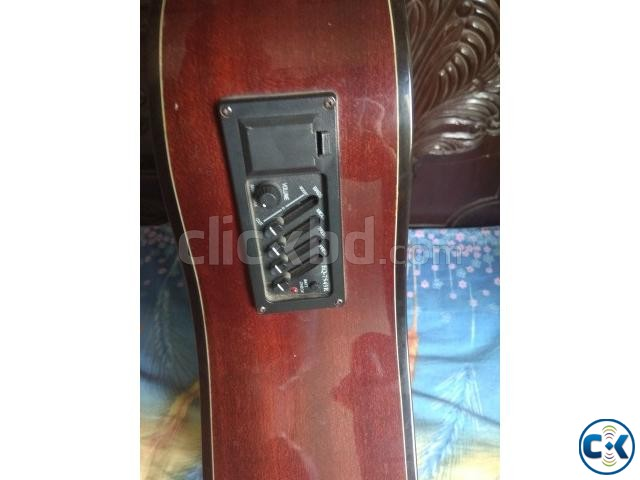 J D acoustic guitar with electric EQ cheap Price | ClickBD large image 0