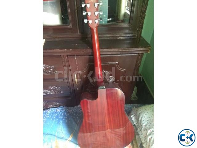 J D acoustic guitar with electric EQ cheap Price | ClickBD large image 2