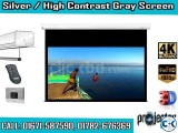 16 9 High Contrast Gray Projection Screen 106