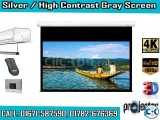 151 High Contrast GREY Projection Screen Material