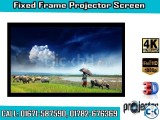 92-inch 16 9 4K Home Theater Fixed Frame Projector Screen