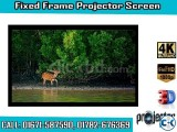 106-inch 16 9 4K Home Theater Fixed Frame Projector Screen
