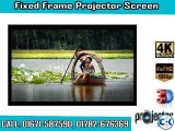 119-inch 16 9 4K Home Theater Fixed Frame Projector Screen
