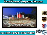 133-inch 16 9 4K Home Theater Fixed Frame Projector Screen