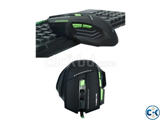 Keywin Gaming Mouse Mouse Pad Combo | ClickBD large image 2