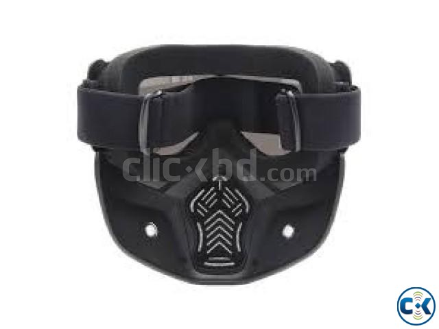 Motorcycle Goggles with Anti Dust | ClickBD large image 1