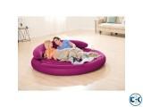 Intex Round Lounge Air Bed intact Box