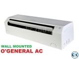 Fujitsu O'General 1.5 ton AC ,Warrenty 3 yrs