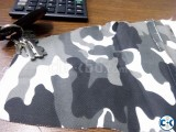 Camo printed Twill Stretched FAbric
