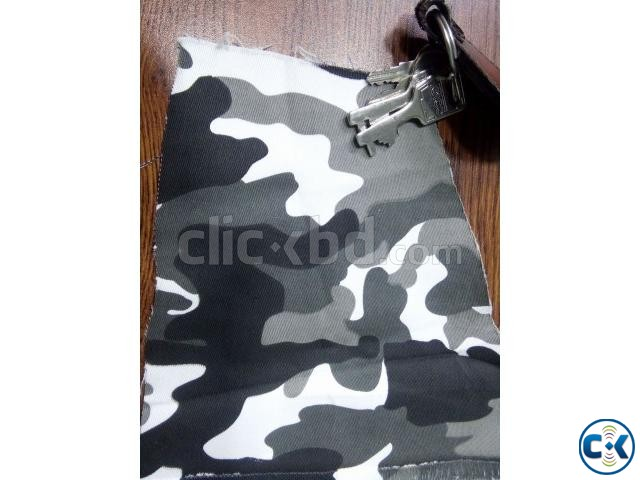 Camo printed Twill Stretched FAbric | ClickBD large image 1