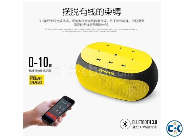 Original Awei Y200 High quality Bluetooth Speaker intact Box | ClickBD large image 2