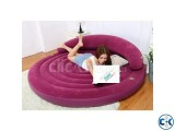 Intex Round Lounge Air Bed intact Box