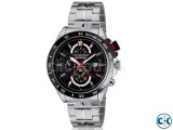 CURREN Men s Stainless Steel Analog Watch with Date Dis