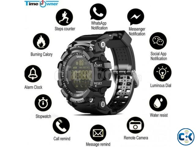 EX16 Smart Watch Bluetooth Gear Waterproof | ClickBD large image 0