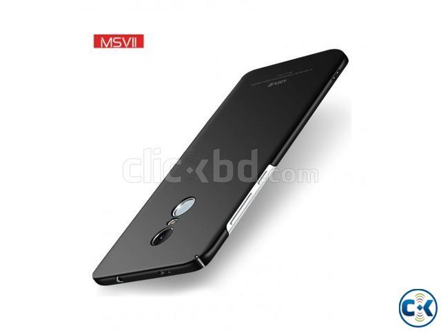 Xaomi Redmi Note 4x 4 Hard Slim Cover -Black | ClickBD large image 0