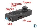 Spy BUtton Camera TF
