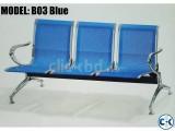 Brand New Steel 3 sits Waiting Sofa B03