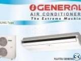 Fujitsu O'General 3 ton Ceilling AC ,Warrenty 3 yrs.