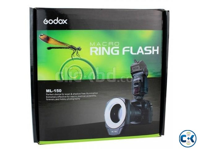 Godox ML-150 Hot Shoe Macro Ring Photography Flash Light | ClickBD large image 3