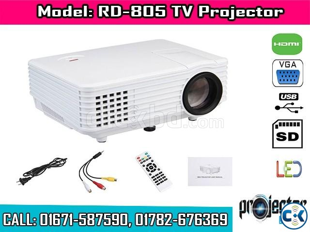 RD-805 HD TV Projector | ClickBD large image 0