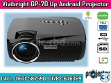 Vivibright GP70-UP 1200 Lumen Android WiFi TV Projector