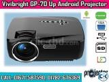 Vivibright GP70-UP 1200 Lumen Android WiFi TV Projector