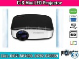 Cheerlux C6 Mini LED TV Projector