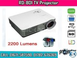 RD-801 2200 Lumens LED TV Projector