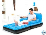 Air bed chair cum sofa