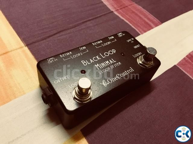 One Control Black Loop 2-loop Switcher for sale. | ClickBD large image 0