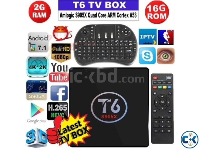 INTERNET SMART TV BOX NEW original Android BOX | ClickBD large image 1