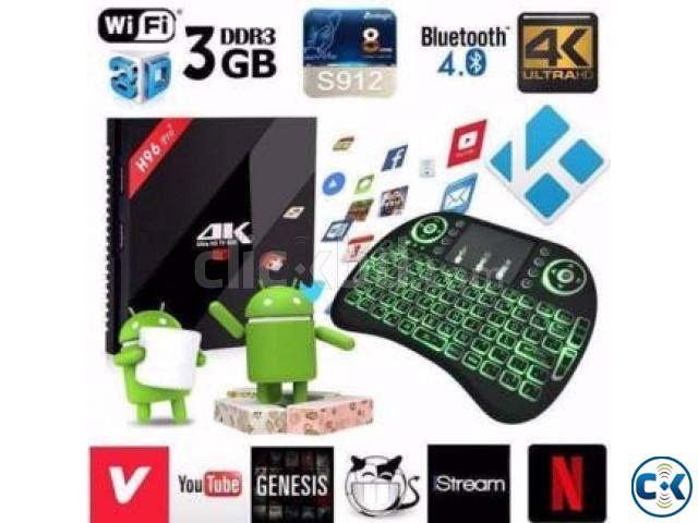 INTERNET SMART TV BOX NEW original Android BOX | ClickBD large image 3