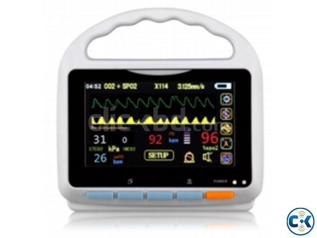 Meditech Patient Monitor MD90et with 5 Touch Screen | ClickBD large image 1
