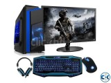 10 Discount- FULL GAming PC 19 LED 3yrs