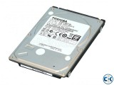 1 TB TOSHIBA LAPTOP HDD
