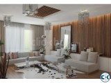 Interior design for living room.