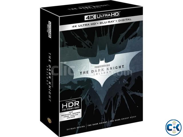 The Dark Knight Trilogy 4K Blu-ray HDR | ClickBD large image 0