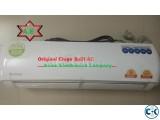 100% Original CHIGO AC 1.5 Ton Split Type,3 yrs Warrenty