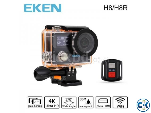 Eken H8R 4K 16MP LCD Screen Remote Control Action Camera | ClickBD large image 0