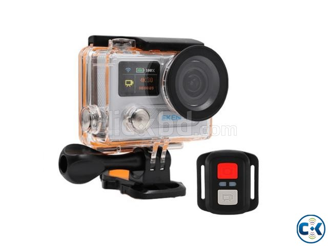 Eken H8R 4K 16MP LCD Screen Remote Control Action Camera | ClickBD large image 1